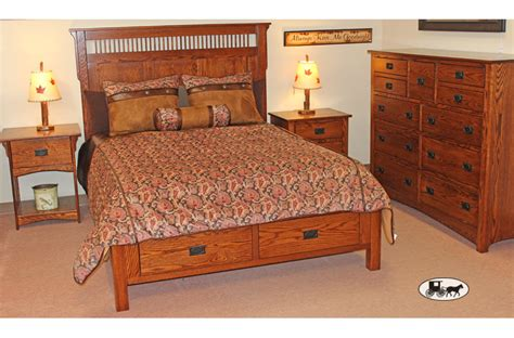 mission style bedroom amish furniture rochester ny mission furniture amish