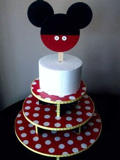 Standing Cup Mickey Mouse Stand Cake cake ideas for bday on mermaid cakes