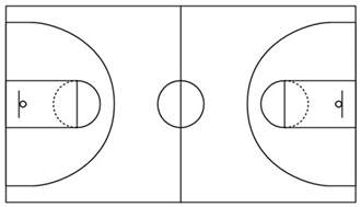 basketball templates simple basketball court template basketball field in