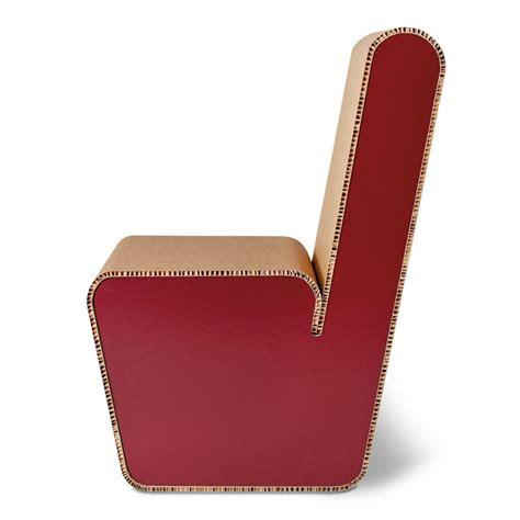 sedia in cartone sedia in cartone riciclato snake origami furniture