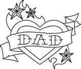 dad tattoo but with different font type tattoos pinterest