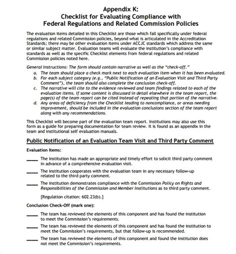 sample employee  evaluation form  word pages sample templates