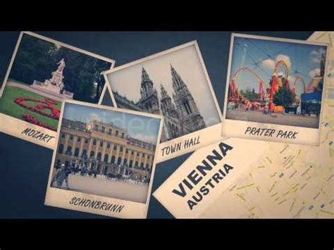 Travel Album After Effects Template Youtube Travel Album Template
