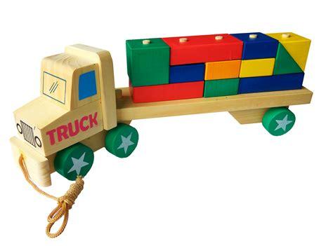 Puzzle Truk 17x20 truk kontainer mainan kayu