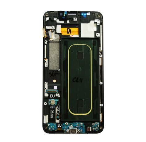 Lcd Samsung S6 Edge Plus samsung galaxy s6 edge plus g928f lcd touch screen frame small parts black free shipping