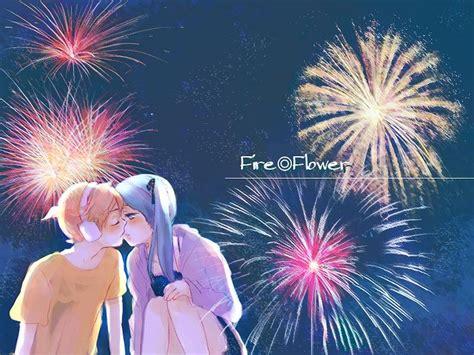 anime fireworks indonesia flower 787625 zerochan