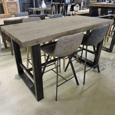 Table Bois Pied Metal 1223 table bois pied metal table plateau en bois et pieds en m