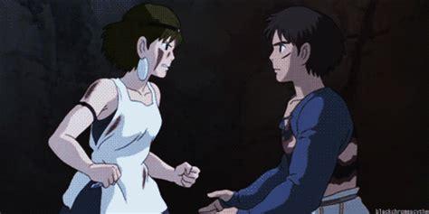 Anime Hug Gif by Studio Ghibli Gif Find On Giphy