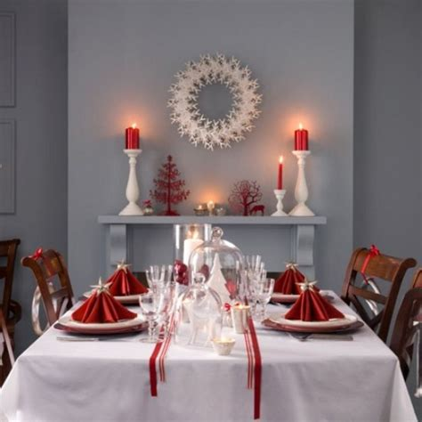 45 amazing christmas table decorations digsdigs