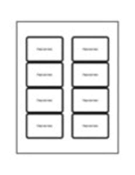 Templates Print To The Edge Clear Rectangle Labels 8 Per Sheet Avery Avery Label Templates For Mac Pages