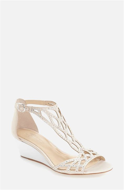 Ivory Wedding Wedges by Amazing Ivory Wedding Wedges Best Wedding Style