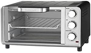 Toaster Oven With Auto Slide Out Rack Amazon Com Cuisinart Compact Toaster Oven Broiler With