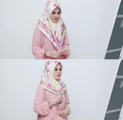 tutorial hijab angel lelga angel lelga berikan tutorial hijab ala wanita rusia
