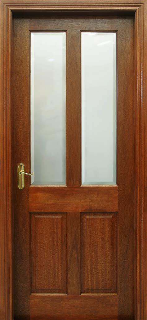 Mahogany Doors Oxford Pre Glazed Mahogany Door 40mm Doors