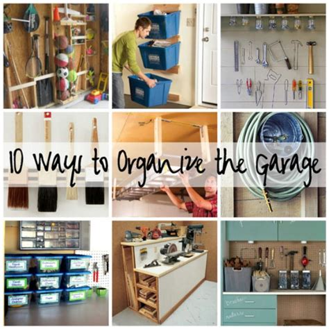 ways to organize a garage 49 brilliant garage organization tips ideas and diy
