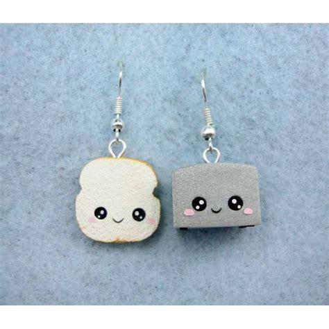 tostapane nutella earring toaster toast kawaii exclusive handmade