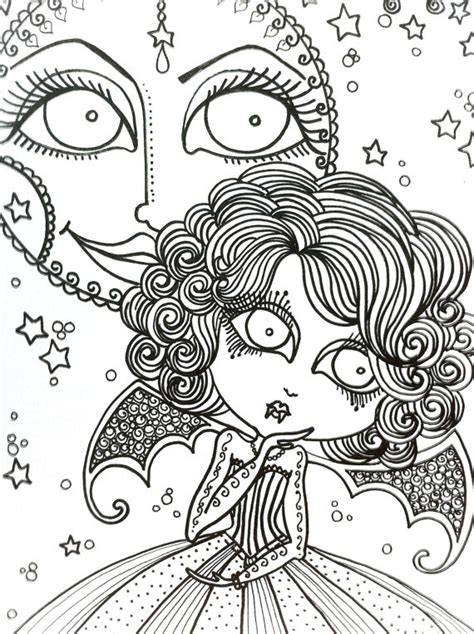 coloring book for goths 62 best images on coloring books