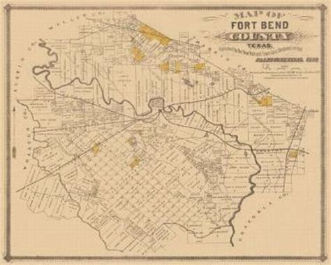 map of fort bend county the black social history black social history