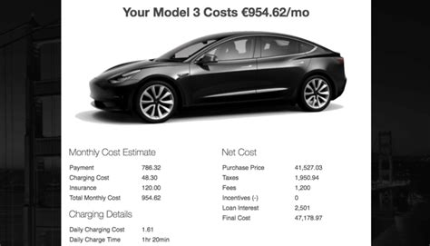 cost of owning a tesla model s tesla calculator estimates the monthly costs of owning a