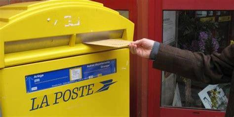 si鑒e la poste la lettre en ligne de la poste vrai service ou fausse