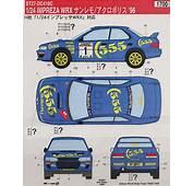 Subaru World Rally Team WRX1996 Decal Model Car Item