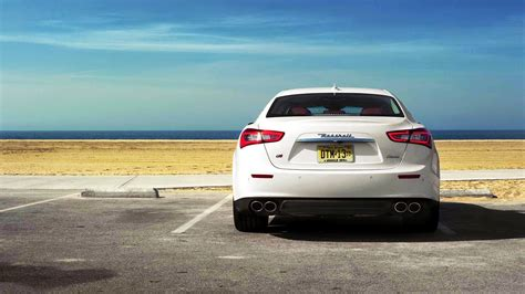 white maserati rear hd wallpapers cars on pinterest hd wallpaper wallpaper
