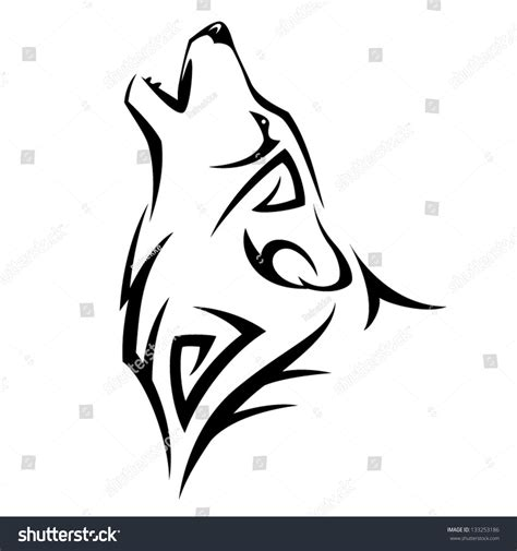 tribal tatoo stock vector 133253186 shutterstock