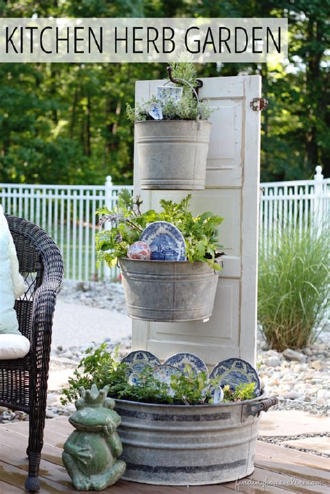 Herb Planters For Kitchen by 12 Inspirational Diy Projects To Create A Front Porch With