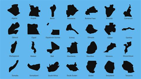map shape country map shapes vector icons pack welovesolo