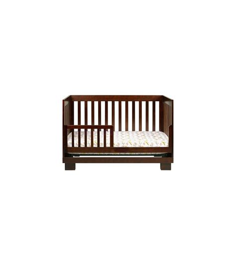 Babyletto Modo 3 In 1 Convertible Crib With Toddler Rail Babyletto Modo 3 In 1 Convertible Crib With Toddler Bed Conversion Kit In Espresso Finish