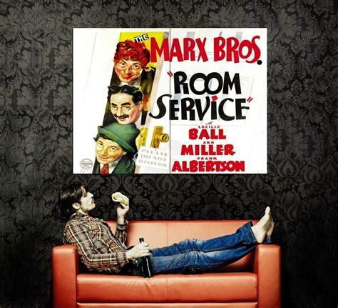 Room Service Vintage by Room Service 1938 Retro Vintage 47x35 Print