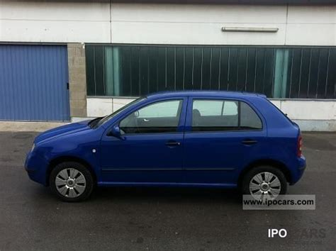 2004 Skoda Fabia 1 9 Tdi Comfort Car Photo And Specs