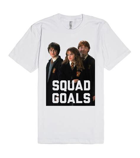 Premium Tees Sz M L Xl harry potter squad goals unisex premium t shirt size s m l xl 2xl