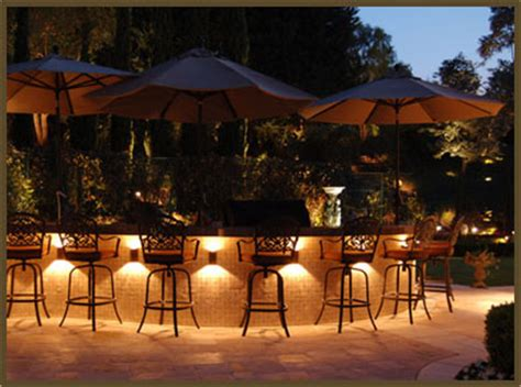 Outdoor Kitchen Lighting Ideas In Backyard Want To Illuminate Your Outdoor Kitchen Pergola Or Your Entire Yard