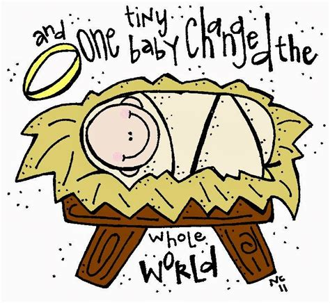 baby jesus clipart melonheadz lds illustrating baby jesus