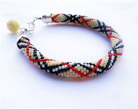 beaded bracelet crochet pattern crochet patterns