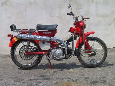 Honda 90 Trail Bike Bike Gallery 1964 Honda Ct 200 Trail 90 Original