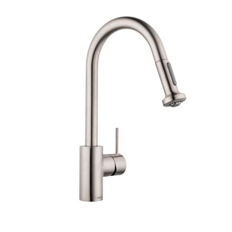 hansgrohe talis kitchen faucet hansgrohe 6801 talis s variarc spray kitchen faucet