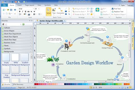 workflow chart software workflow diagram creator