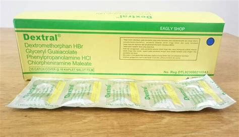 Obat Dextral 5 obat batuk paling uh di apotik yang membuat