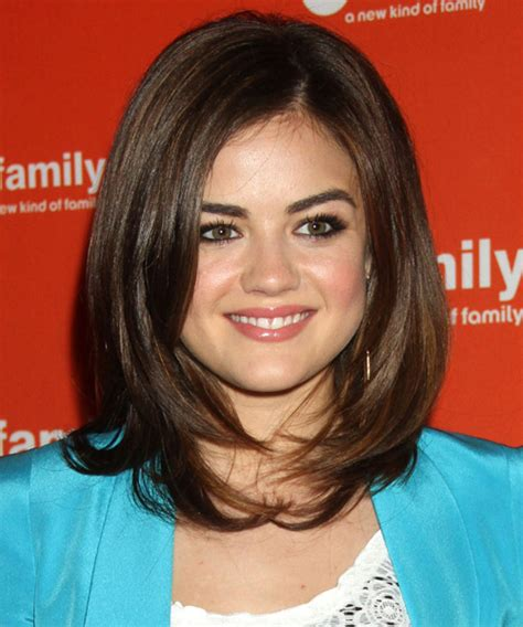 hair cuts that look good with pear face lucy hale hairstyles for a triangular or pear face shape
