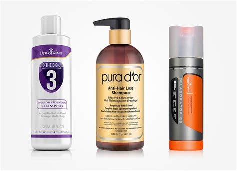 compare over the counter hair products 10 best hair loss shoos for thinning hair plus 2