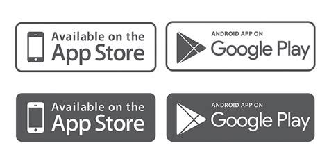 app store vs google play whats hot and whats not 10 mobile app download app store google play button