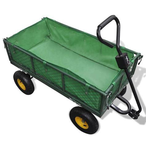 carrello da giardino carrello da giardino capacit 224 di carico 350 kg vidaxl it