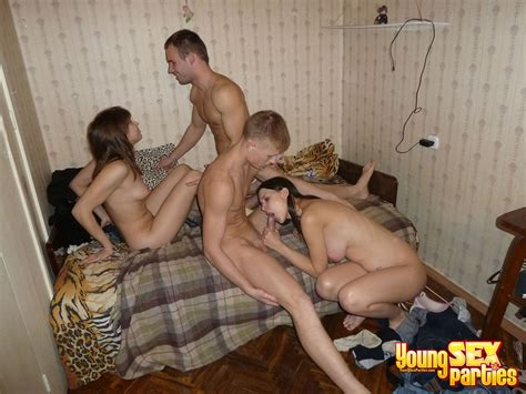 Cuties Stand In Different Positions During Young sex Party Young porno