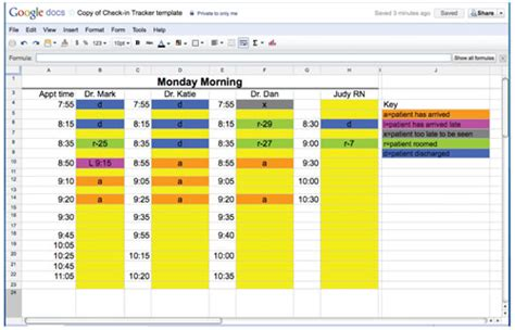 patient tracking spreadsheet okl mindsprout co