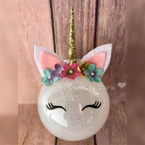 unicorn ornaments ideas  pinterest unicorn