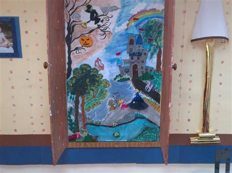 Wardrobe Project by Year 4 Topic Board Imaginary Worlds The The Witch