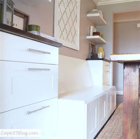how to build a banquette out of cabinets diy banquette seat cabinets built ins and ikea cabinets
