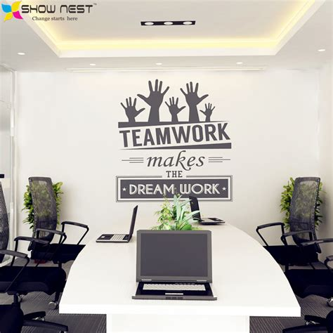 aliexpress headquarters aliexpress com buy office wall stickers vinyl decal art